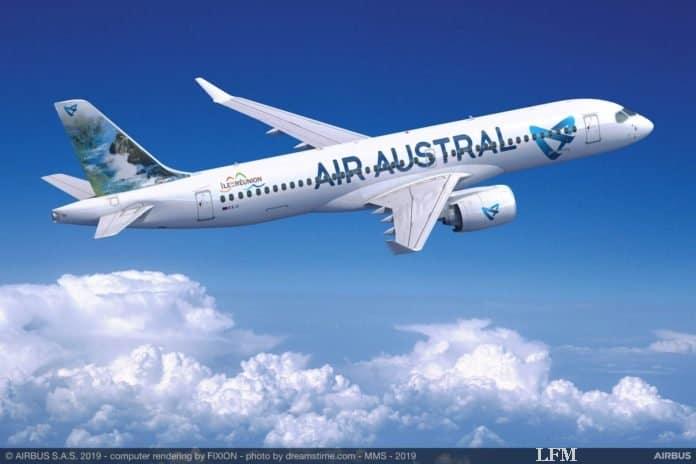 La Réunion: Airbus A220 Flugzeuge für Air Austral