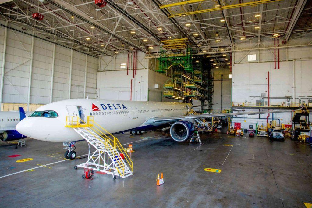 Airbus und Delta starten digitale Allianz