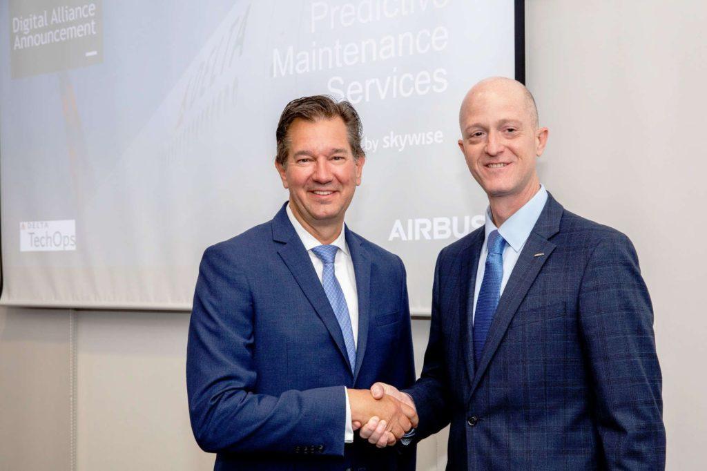 Don Mitacek, Senior Vice President Technical Operations von Delta (links im Bild)