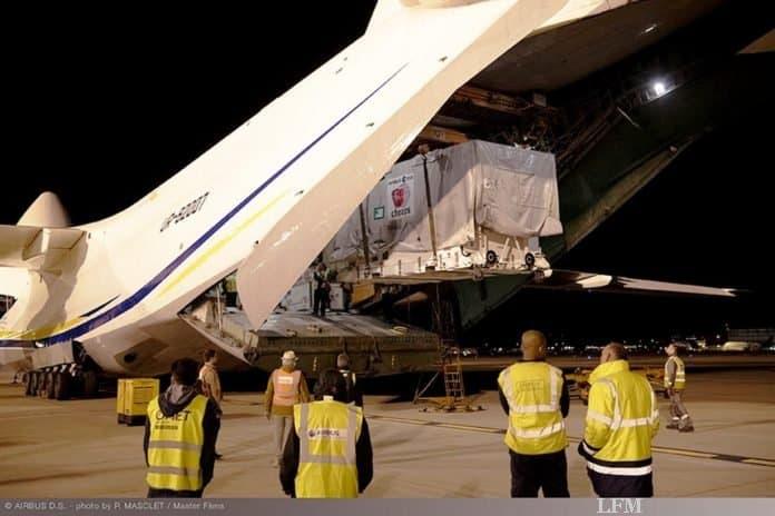 ESA-Satellit CHEOPS tritt Flug an