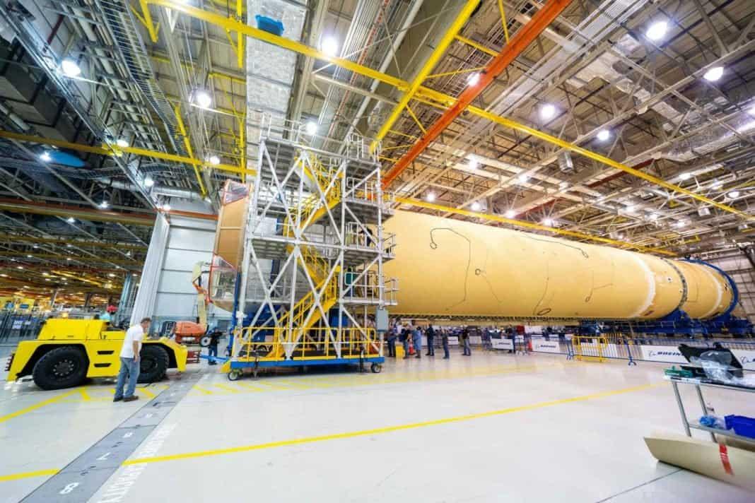 SLS von Boeing: NASA will zehn Hauptstufen