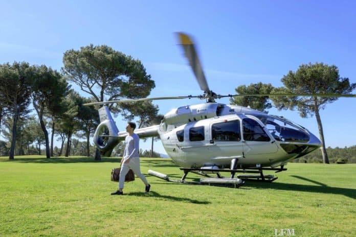 Airbus Business-Helis ACJ319 und ACH145 auf der NBAA