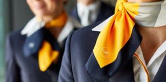 Lufthansa Kabinenmitarbeiterinnen