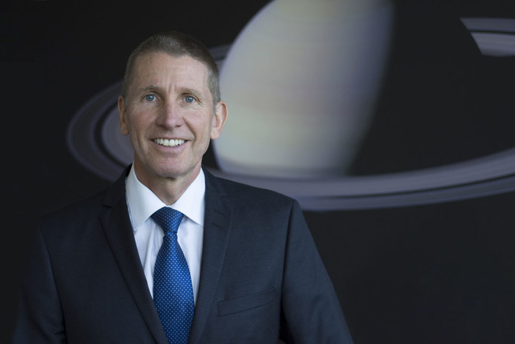 Peter Guggenbach, CEO RUAG Space