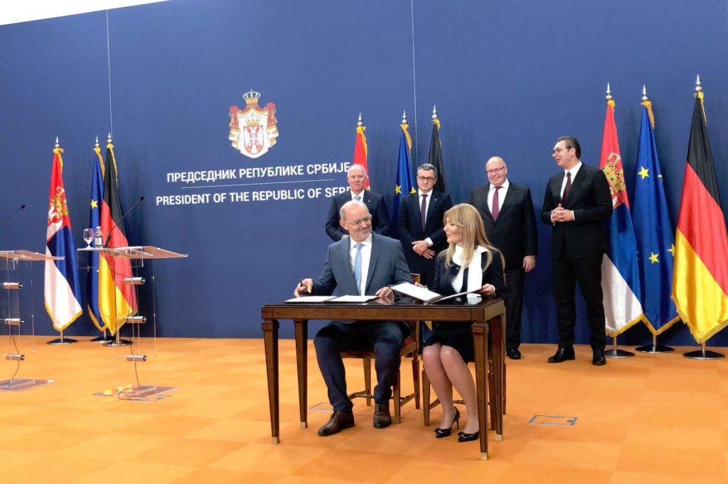 """MTU exportiert """"Duales System"""" für Luftfahrt in Serbien"""