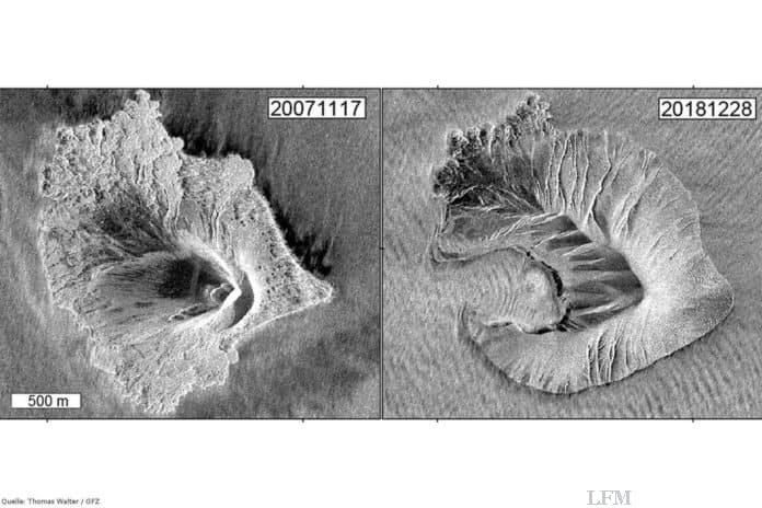 Krakatau Vulkan, Indonesien