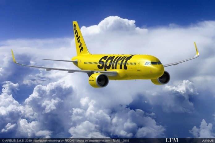 Spirit Airlines bestellt 100 Airbus der A320neo-Familie