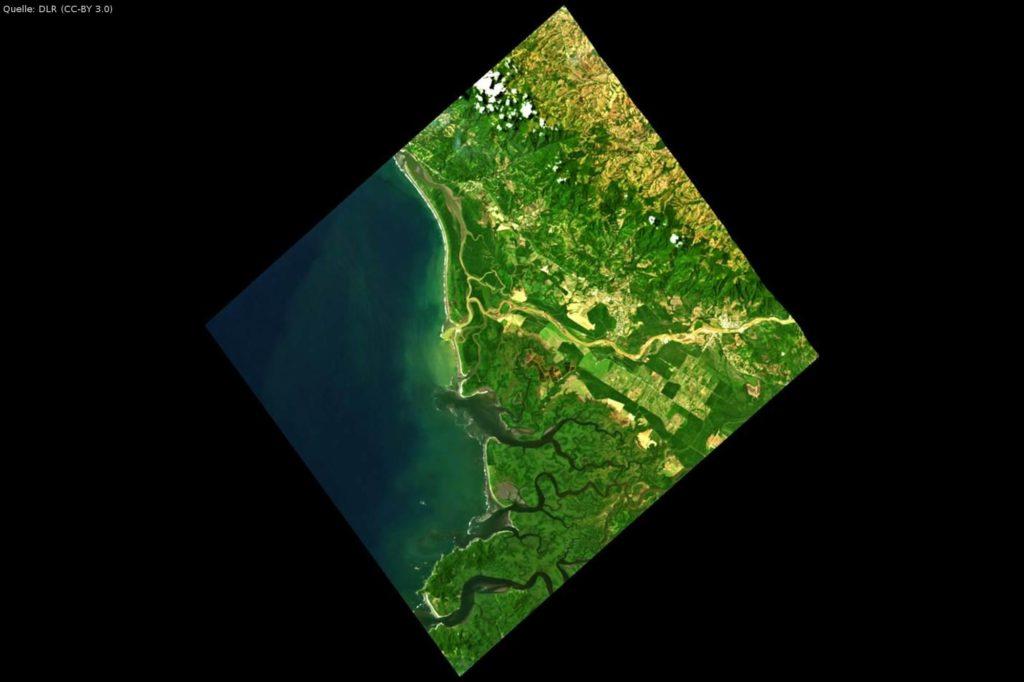 Einsatzgebiet Costa Rica: DESIS-Daten für Wasserqualitätsstudien