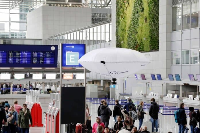 Fraport testet H-Aero Hybrid-Flieger im Terminal