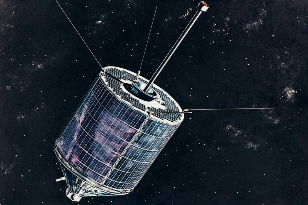 Satellit Azur: Deutschland wurde zur Raumfahrtnation