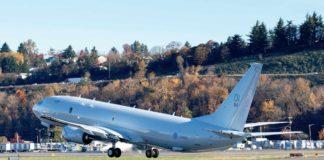 P-8A Poseidon MPA für die RAF verlässt Tukwila