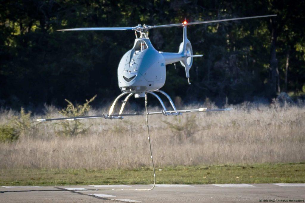 Airbus Hubschrauberdrohne VSR700 zum Erstflug gestartet