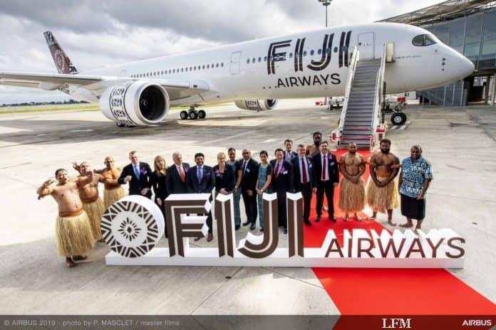 Fiji Airways fliegt jetzt auch Airbus A350 XWB