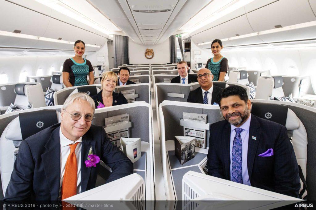 Airbus A350 XWB an Fiji Airways geliefert