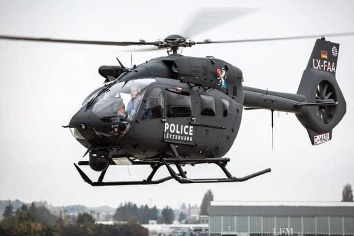 Kampfhubschrauber H145M in Luxemburg eingeflogen