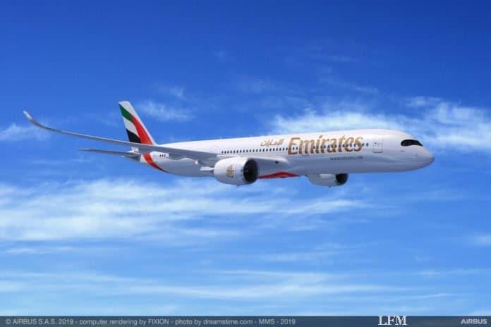 Airbus Großauftrag: Emirates bestellt 50 neue A350-900