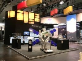 Das Deutsche Zentrum für Luft- und Raumfahrt (DLR) hat auf der SpaceTech Expo vom 19. bis zum 21. November 2019 in Bremen einen Stand mit Exponaten in Halle 5.