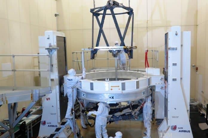 Euclid-Teleskop: Herzstück des Nutzlastmoduls