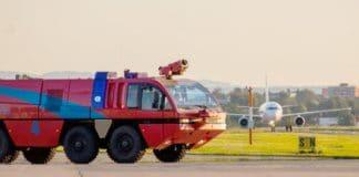 Notfallalarm am Flughafen Friedrichshafen