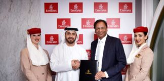 Emirates und SpiceJet beschließen Codeshare & Interline