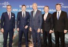 (V. l.): Dr. Michael Fraas, Dr. Hans Georg Reichhart, Dr. Stefan Schulte, Ralph Beisel und Thomas Schnalke.