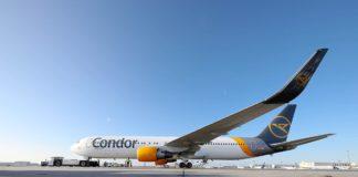 Condor fliegt wieder mit eigenem Logo