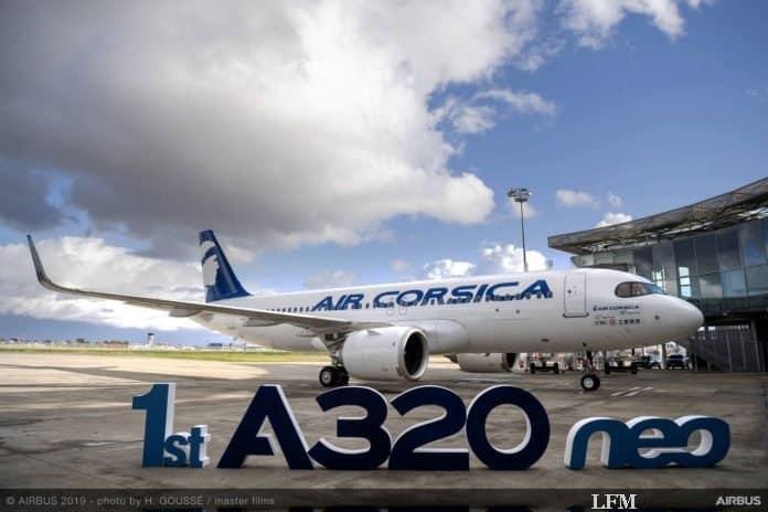 Air Corsica erhält ihren ersten Airbus A320neo