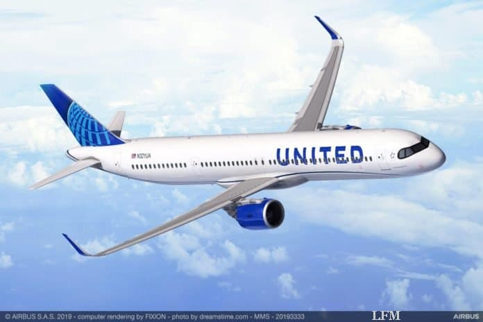 United Airlines bestellt 50 Airbus A321XLR
