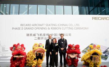 Neue Recaro Anlage baut 60.000 Flugzeugsitze in China