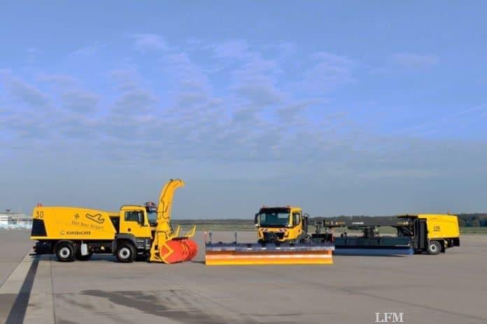 Flughafen Köln Bonn verstärkt Fuhrpark für Winterdienst