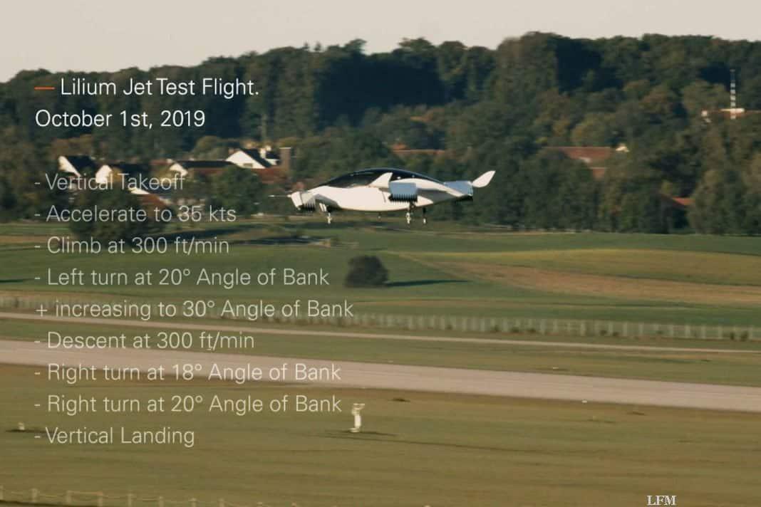 Lilium, das Flugzeug-Start-up aus dem bayrischen Wessling