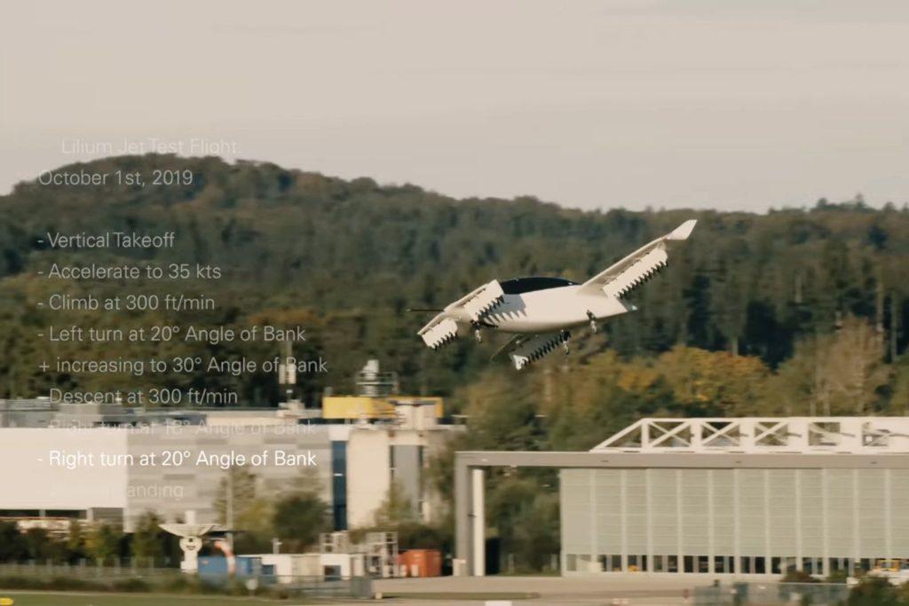 Lilium Jet schließt Testphase ab