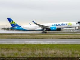 Air Caraïbes erhält ihren ersten Airbus A350-1000 XWB