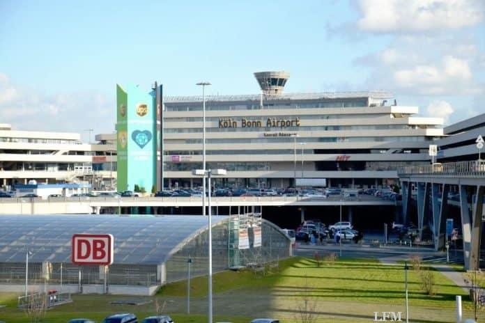 Flughafen Köln-Bonn mit Passagierrückgang im Vorjahr