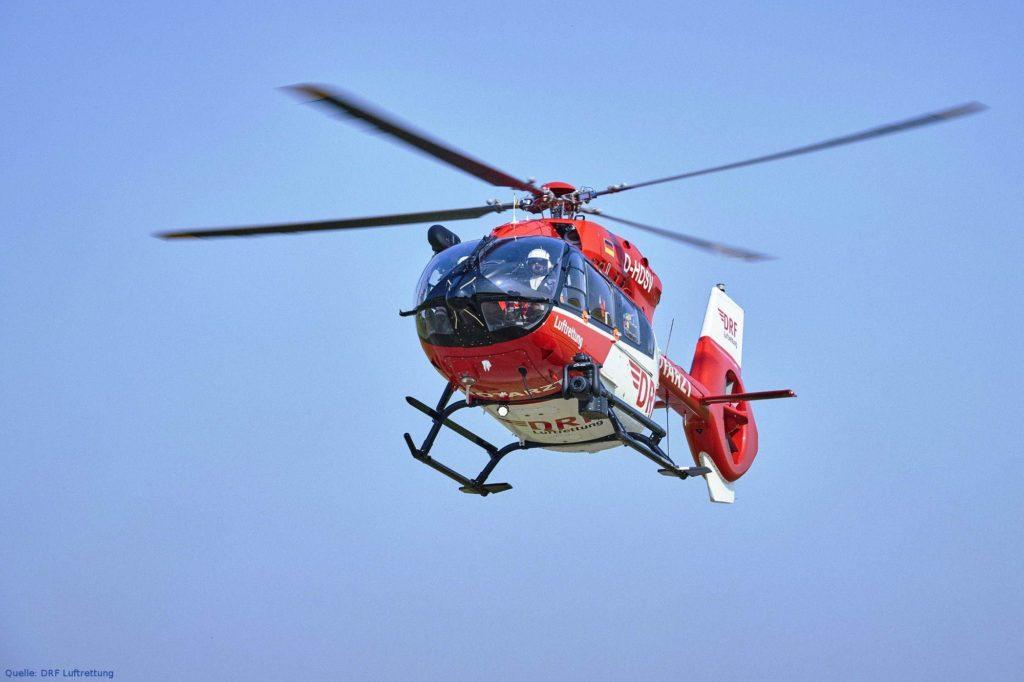 DRF Luftretter flogen über 40.000 Einsätze im Jahr