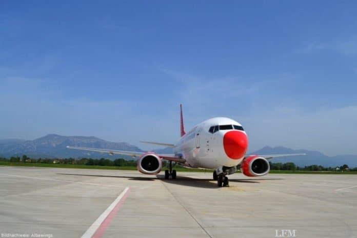 Albawings vebindet Tirana mit dem Flughafen Hamburg