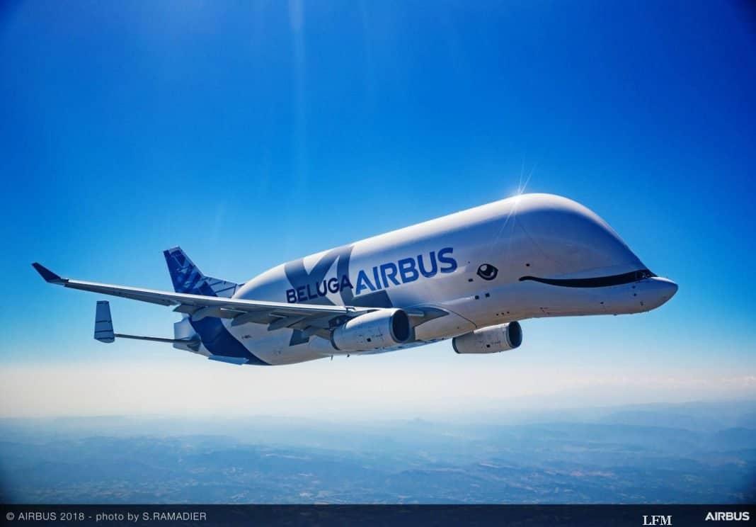 Airbus setzt ersten Riesentransporter BelugaXL ein