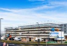 Flughafen BER: Richtfest für das neue Dienstgebäude der Bundespolizei