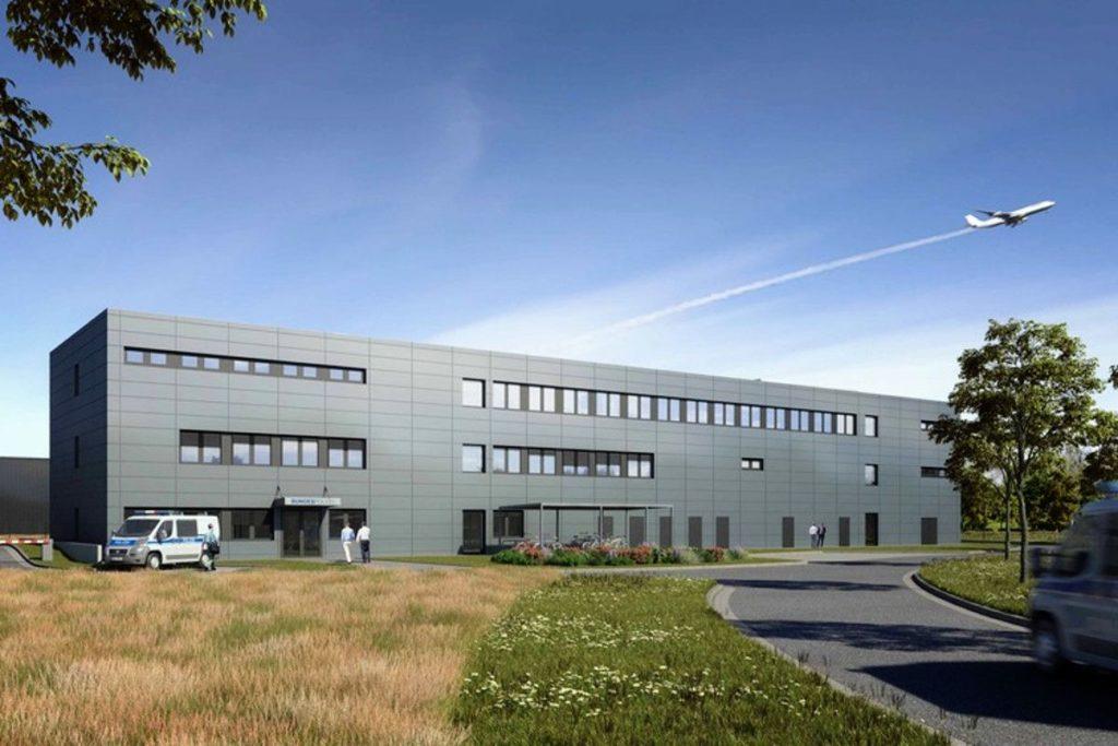 Das Gebäude für Sicherheitsdienste wurde bereits im Jahr 2011 fertiggestellt.
