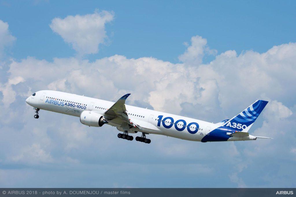 Test-Airbus A350 XWB