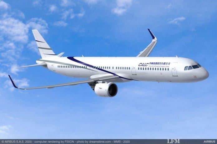 Flugzeugverleaser CALC bestellt 40 Airbus A321neo