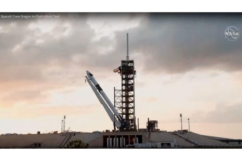 NASA und SpaceX: Spektakulärer Katastrophentest