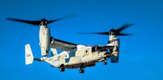 Erstflug des neuen Osprey CMV-22B bei Bell