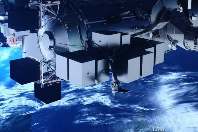 Bartolomeo Plattform für ISS bei der NASA angekommen
