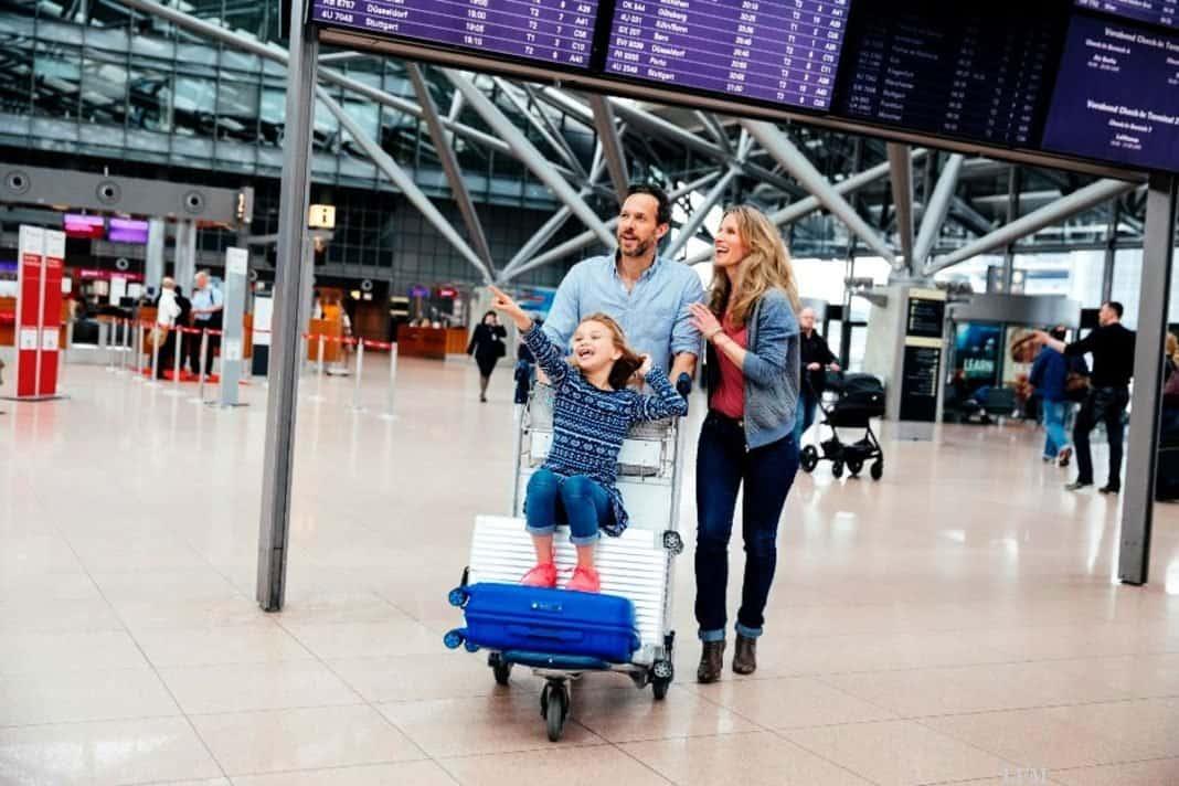 Hamburg Airport verzeichnet 68,8% Privatreisen
