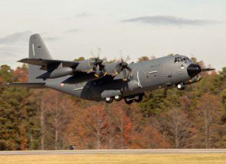 KC-130J Tankflugzeug Super Hercules in Frankreich