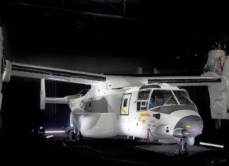 Boeing CMV-22B Osprey hat Premiere bei US-Navy