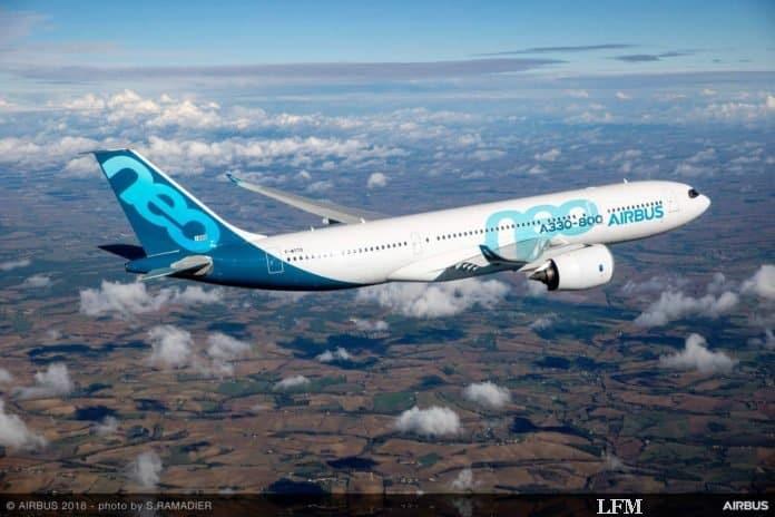 Airbus A330-800 bekommt Zulassung von EASA und FAA
