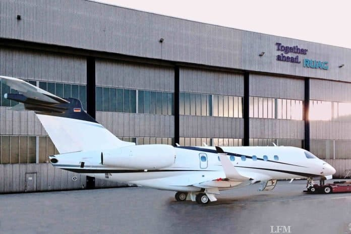 Ruag Oberpfaffenhofen entlässt Embraer Legacy 500