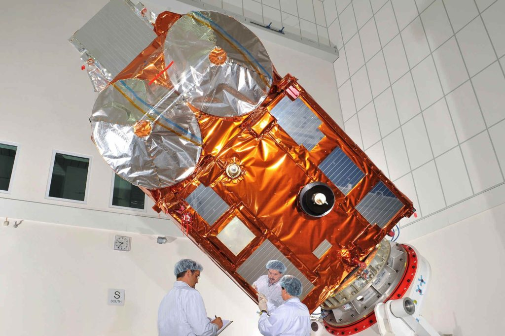 CryoSat-2 wirft noch immer coole Blicke auf die Erde